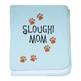 Sloughi Mom baby blanket