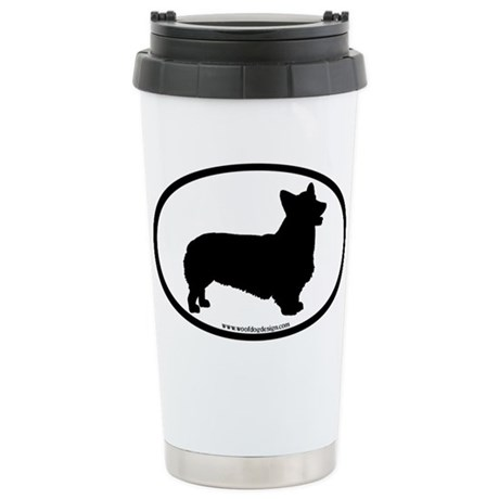 Pembroke Welsh Corgi Ceramic Travel Mug