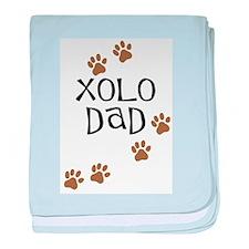Xolo Dad baby blanket