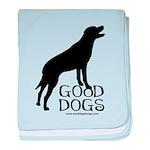 Good Dogs baby blanket