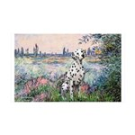 Seine / Dalmatian #1 35x21 Wall Decal