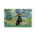Bridge / Doberman 20x12 Wall Decal