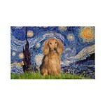Starry / Doxie (LH-Sable) 35x21 Wall Decal