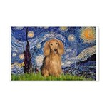 Starry / Doxie (LH-Sable) 20x12 Wall Decal