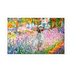 Garden / English Setter 35x21 Wall Decal