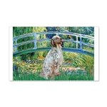 Bridge / English Setter 20x12 Wall Decal