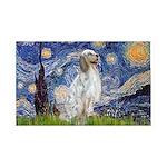 English Setter / Starry Night 35x21 Wall Decal