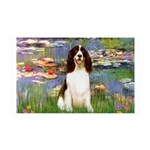 Lilies / Eng Spring 35x21 Wall Decal