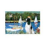 Sailboats / Eng Springer 35x21 Wall Decal