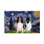 Starry / 2 Eng Springe 35x21 Wall Decal