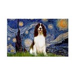 Starry Night / Eng Spring 35x21 Wall Decal