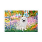 Garden / Eskimo Spitz #1 35x21 Wall Decal