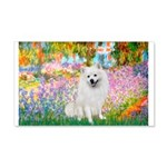 Garden / Eskimo Spitz #1 20x12 Wall Decal