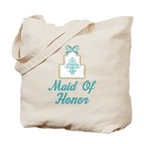 Maid Of Honor Wedding Cake Tote Bag