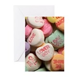 Valentine Candy Greeting Cards (Pk of 20)