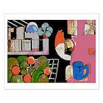 New Orleans Artist JK Schwehm Small Poster