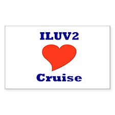 ILUV2 Cruise Decal