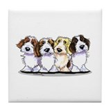 PBGV Lover Tile Coaster
