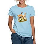 Buff Duck Family Women's Light T-Shirt