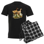Buff Duck Family Men's Dark Pajamas