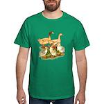 Buff Duck Family Dark T-Shirt
