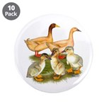 """Buff Duck Family 3.5"""" Button (10 pack)"""