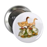 """Buff Duck Family 2.25"""" Button (10 pack)"""