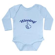 Winning! Long Sleeve Infant Bodysuit
