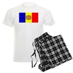 Andorra Andorran Blank Flag Men's Light Pajamas
