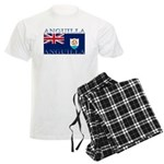 Anguilla Flag Men's Light Pajamas