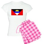 Antigua Barbuda Blank Flag Women's Light Pajamas