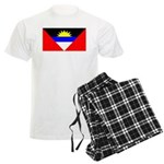 Antigua Barbuda Blank Flag Men's Light Pajamas