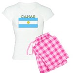 Canas Argentina Flag Women's Light Pajamas
