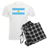 Argentina Blank Flag Men's Light Pajamas