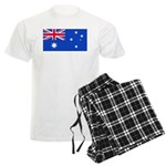 Australia Blank Flag Men's Light Pajamas