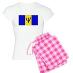 Barbados Blank Flag Women's Light Pajamas