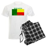 Benin Flag Men's Light Pajamas