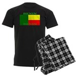 Benin Flag Men's Dark Pajamas