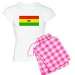 Bolivia Blank Flags Women's Light Pajamas
