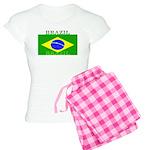 Brazil Brazilian Flag Women's Light Pajamas