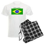 Brazil Brazilian Flag Men's Light Pajamas