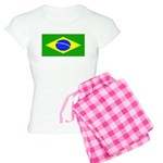Brazil Blank Flag Women's Light Pajamas