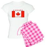 Canada Canadian Flag Women's Light Pajamas
