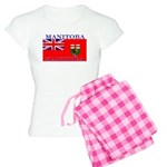 Manitoba Manitoban Flag Women's Light Pajamas