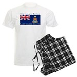 Cayman Islands Men's Light Pajamas