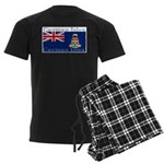 Cayman Islands Men's Dark Pajamas