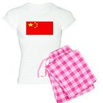 China Chinese Blank Flag Women's Light Pajamas