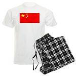 China Chinese Blank Flag Men's Light Pajamas