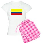 Colombia Colombian Blank Flag Women's Light Pajama
