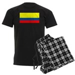 Colombia Colombian Blank Flag Men's Dark Pajamas